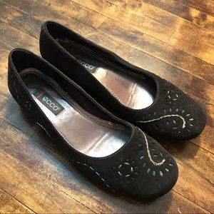 Ecco Patterned Shoes